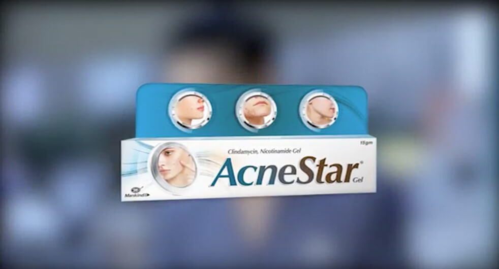 Acne Star Gel Video